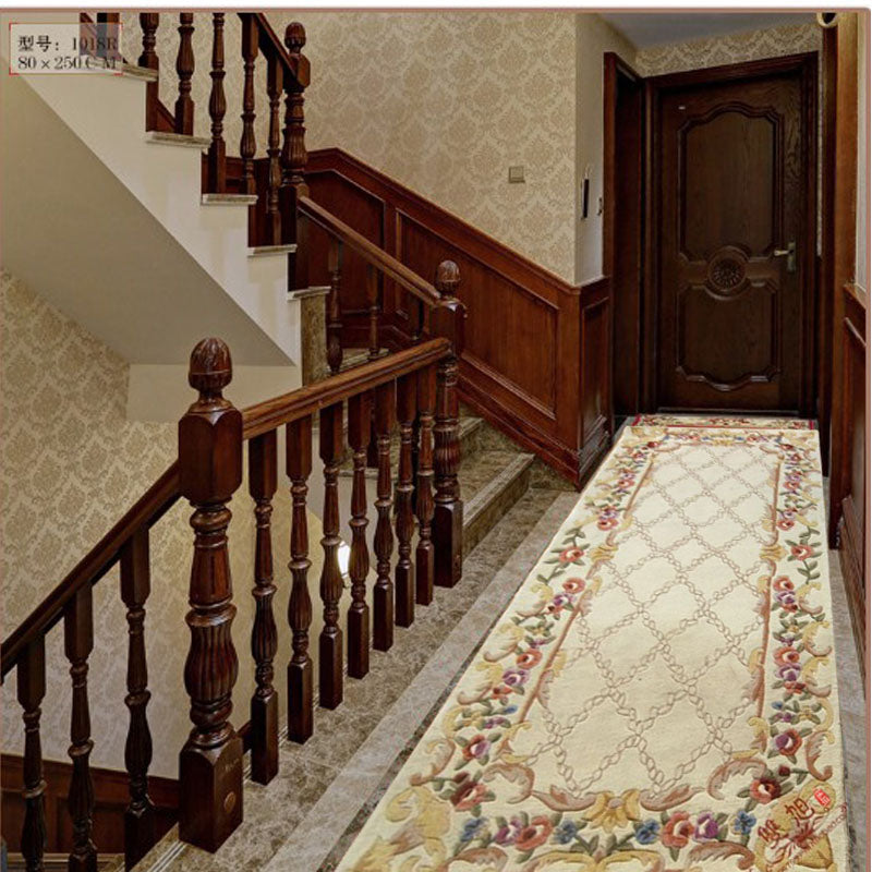 Corridor carpet Large for rug Wool carpets - home and decor-oosmdeals