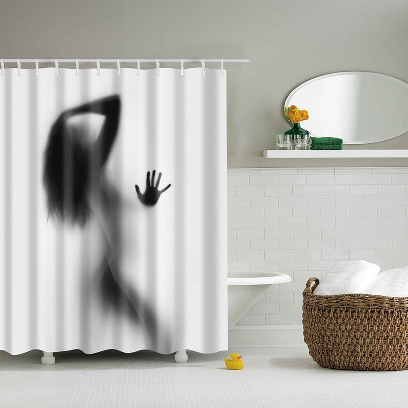Modern Designer Feminine Decor Dreamy Folklore Shower Curtain Fairy Angel Wings Fae Home Accent Soft Curtain Colors