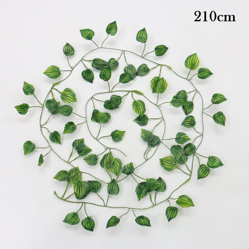 200cm Artificial plants Creeper green leaf Ivy vine - home and decor-oosmdeals