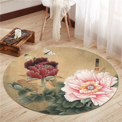 Retro Chinese Style Carpets Living Room Bedroom Study Bedside Carpet - home and decor-oosmdeals