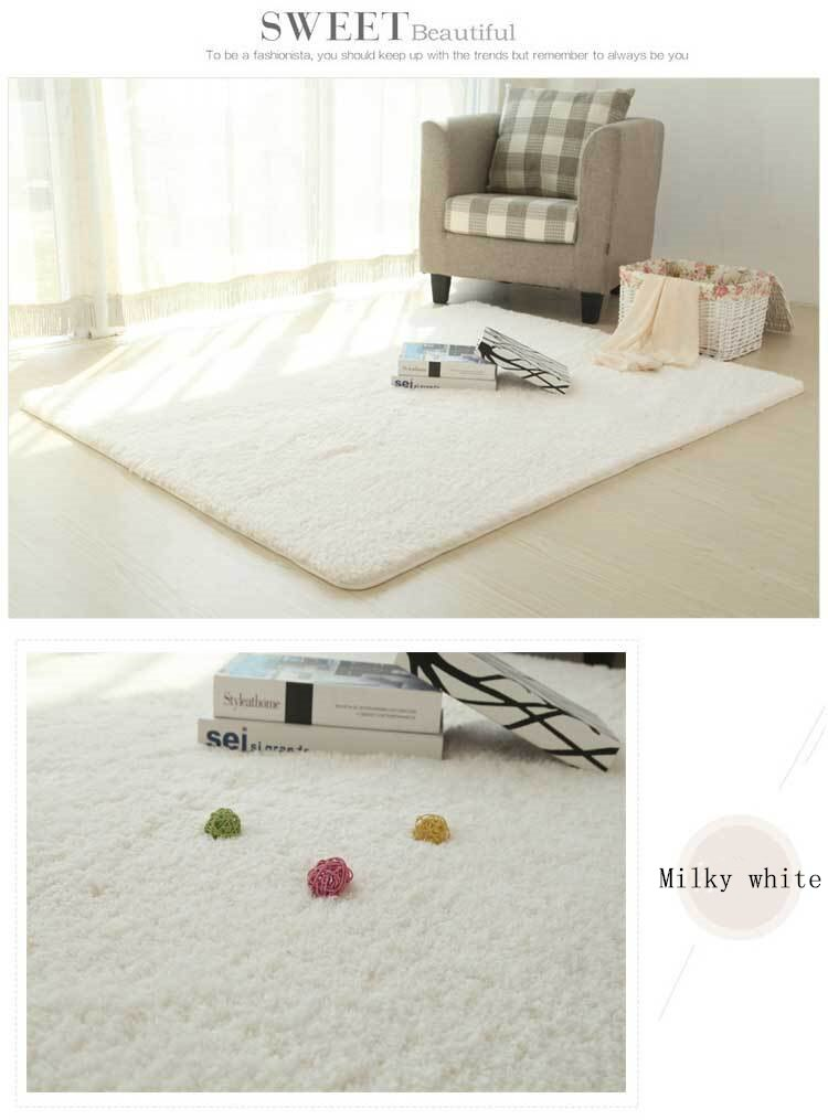 RECOLOUR New Style Living Room/bedroom Rug Antiskid Soft 150cm * 200 Cm Carpet - home and decor