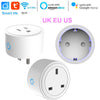 US/EU/UK Smart Mini Socket Plug WiFi Wireless Remote Socket Adaptor with Timer on / off Compatible with Alexa Google Home Voice