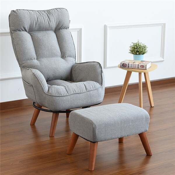 Contemporary Swivel Accent Arm Chair Home Living Room Furniture - home and decor