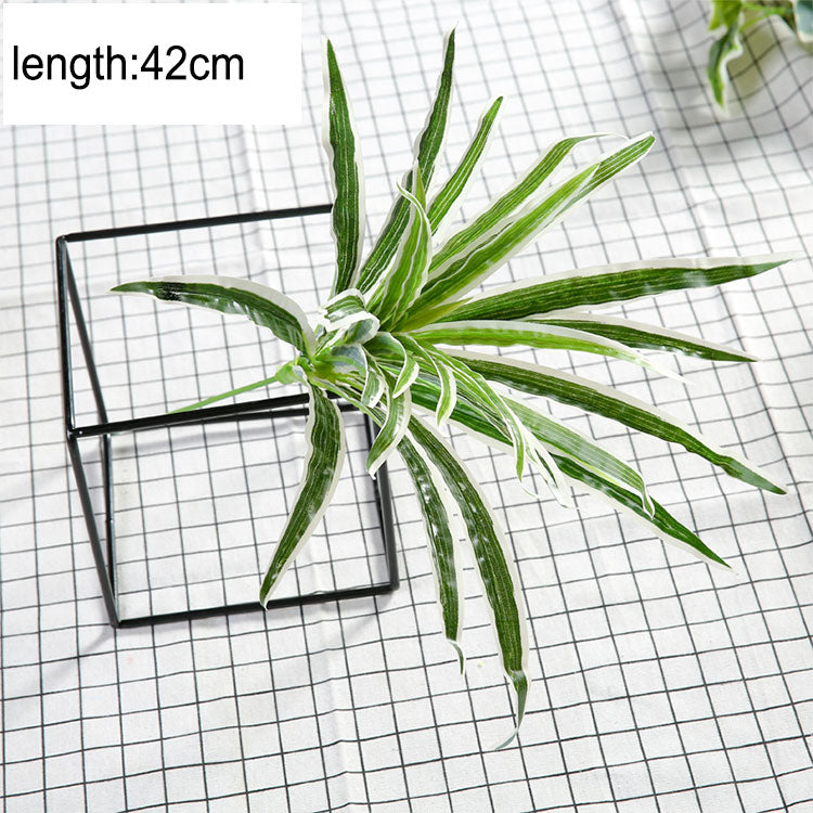 Luyue Artificial Plant Wall Plant Accessories Green plants Grass Subtropical plant - wall art-oosmdeals