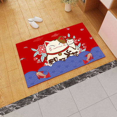 New Year 3d Carpet Chines Wedding Rug Non-slip Super Soft Living Room Carpets Red Festive Decorative Mat Home Decor Accessories