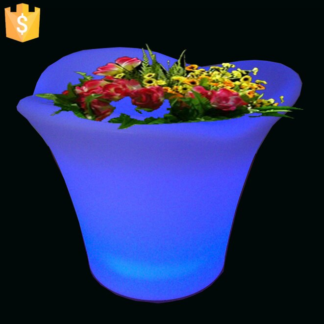 L32*W32*H28cm Modern Lighting Planter - home decor Online store