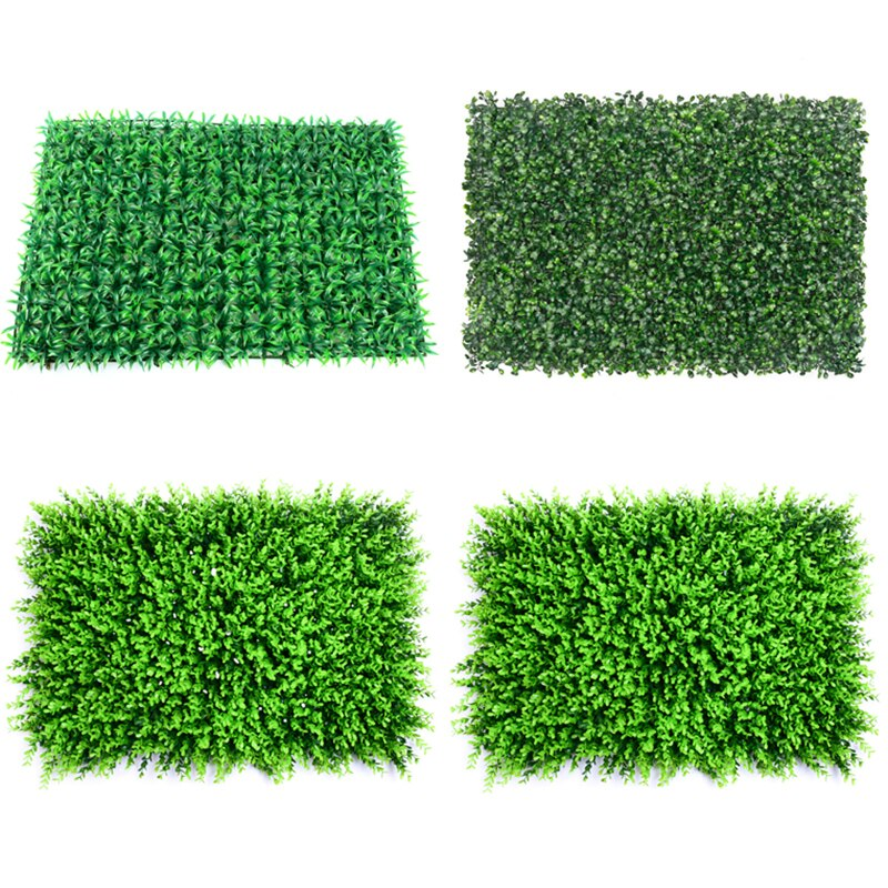 40x60cm Grass Mat Green Artificial Plant Lawns Landscape Carpet for Home Garden Wall Decoration Fake Grass Party Wedding Supply