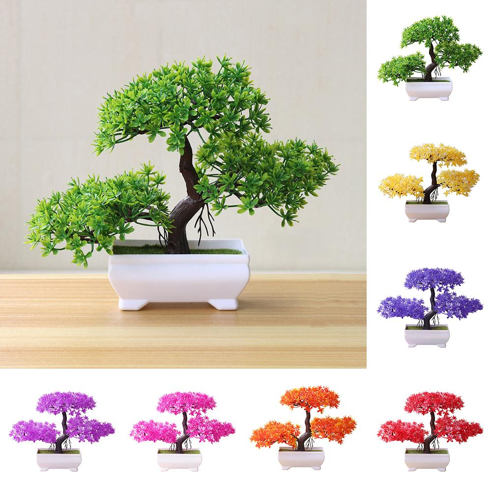 Welcoming Pine Emulate Bonsai Simulation Artificial plants Fake Plants Ornament - home and decor