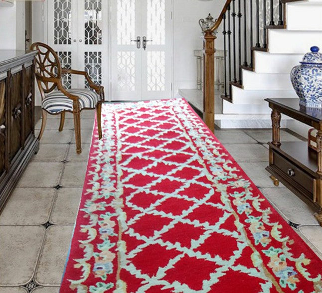 Corridor carpet Large for rug Wool carpets - home and decor