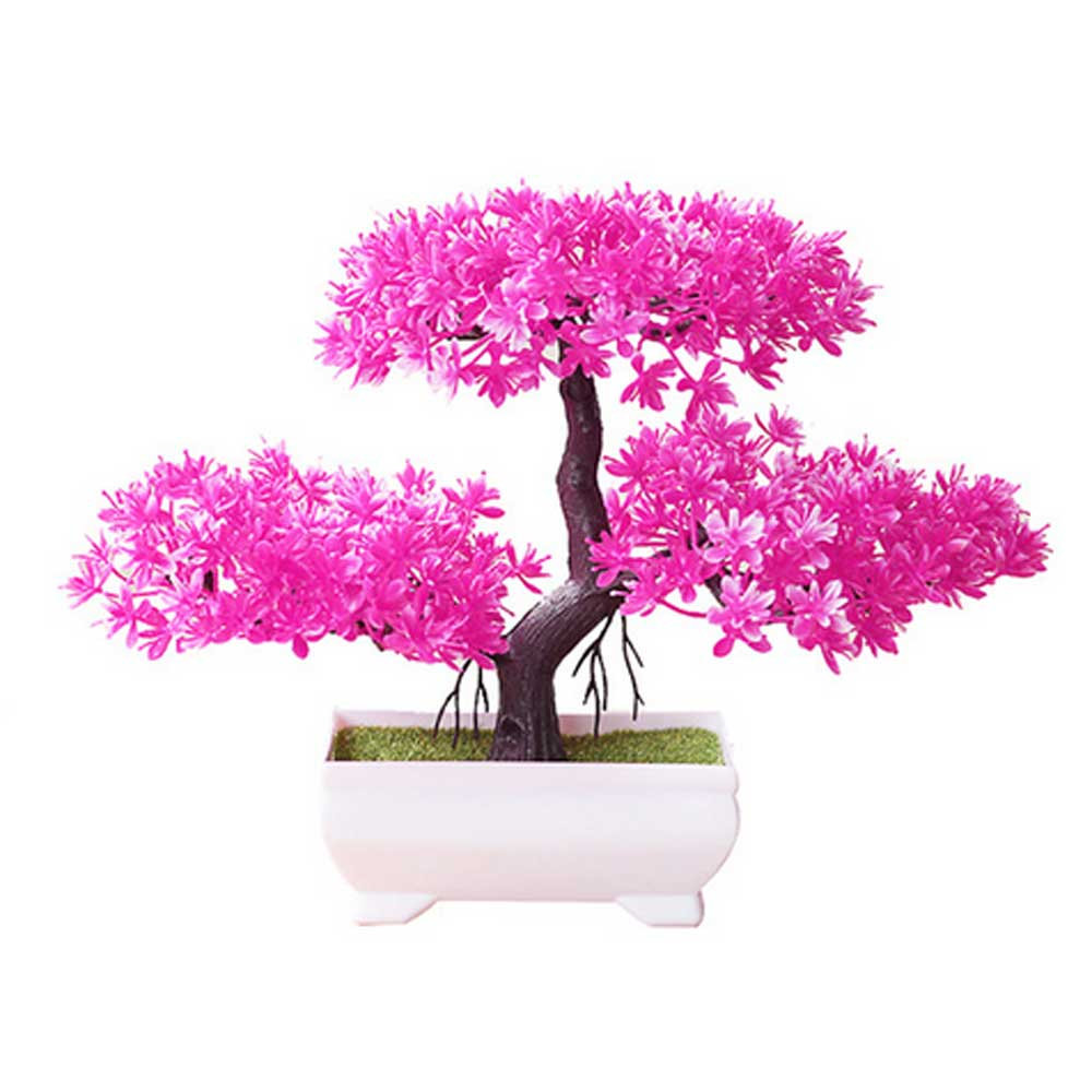Artificial Bonsai Cloud Pine Tree Creative Style Plant Decoration  Potted for Office Home Christmas Simulation Mini Decoration