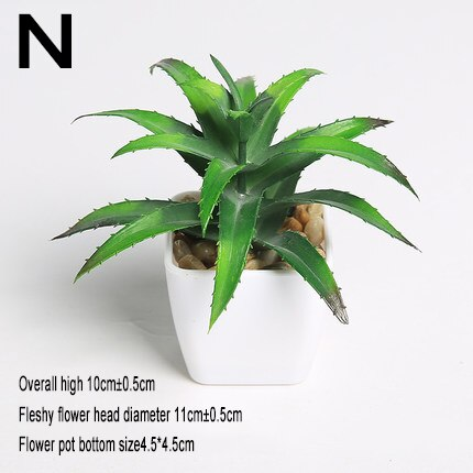 1pc Super Cute Mini Succulent Artificial Plants - home and decor-oosmdeals