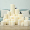 White Wax Light New Candle Wedding Christmas Gifts Decoration Lights Velas Candles Decorativas Birthday Holloween Happy 50X033