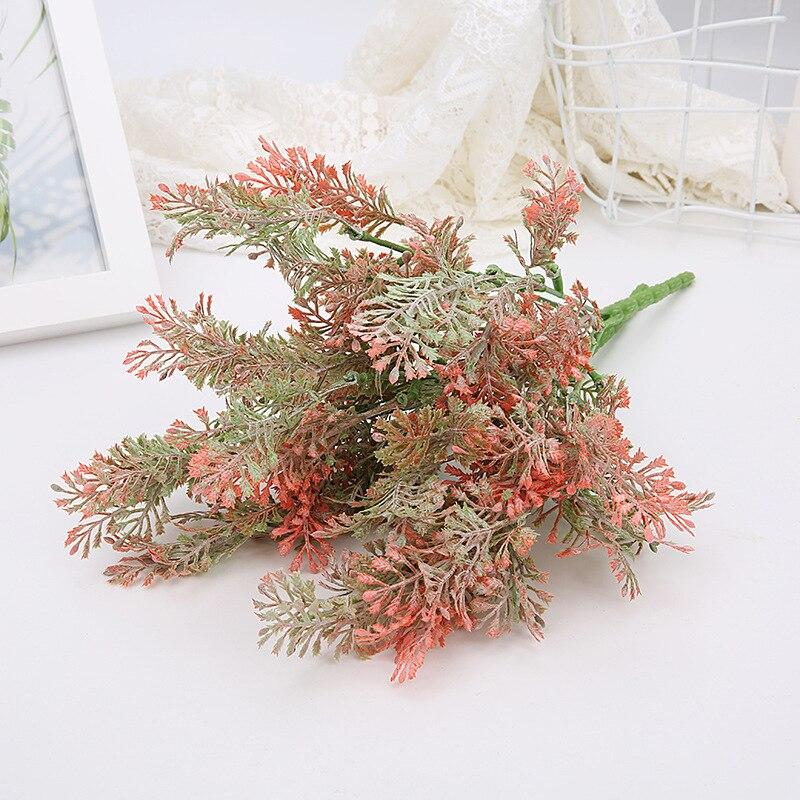 Fake plant Plastic Flower Artificial Plants Green Grass Plastic plant decorative flowers Garden Home Decoration artificial grass