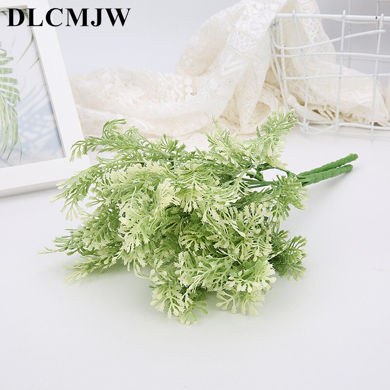 Fake plant Plastic Flower Artificial Plants Green Grass Plastic plant - home and decor