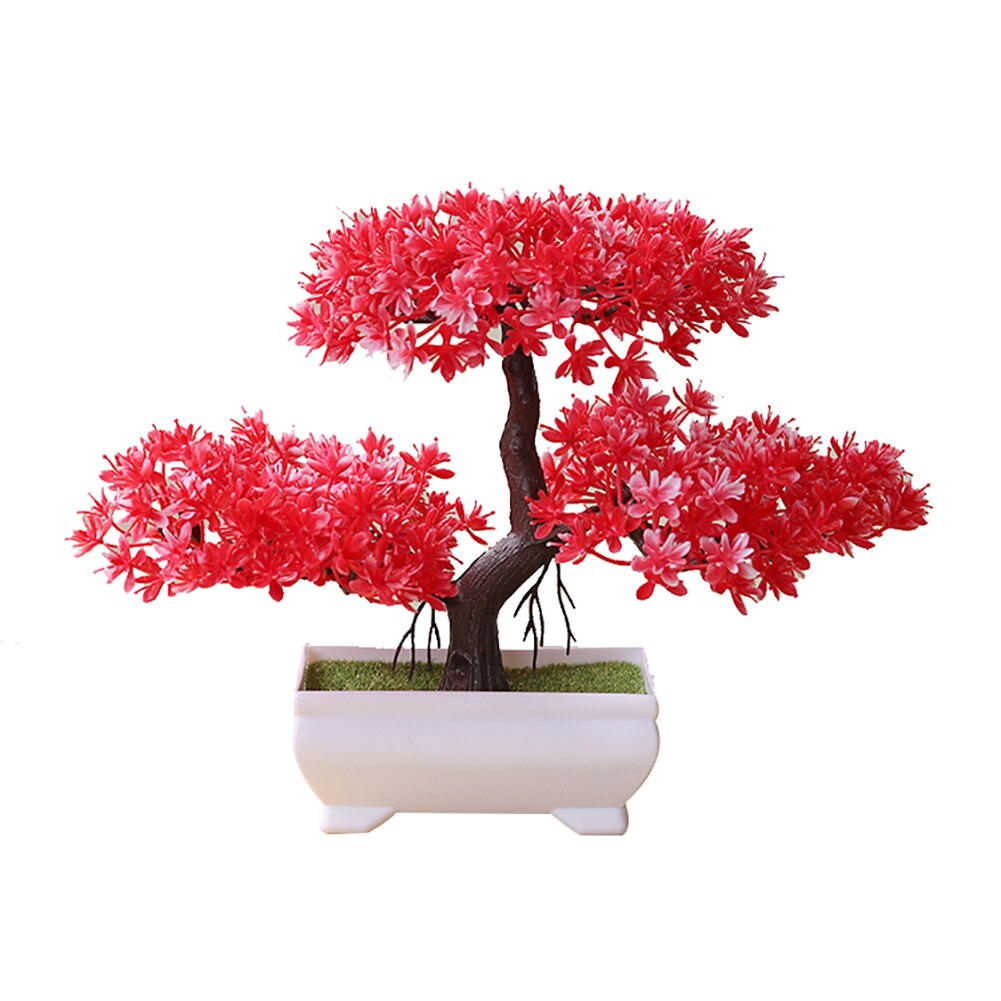 Welcoming Pine Emulate Bonsai Simulation Artificial plants Fake  Plants Ornament Decor Artificial Plants  home accessories decor