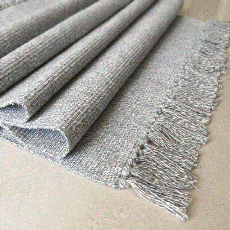 WINLIFE Cotton Blending Fiber Carpets Decorative Area Rugs For Living Room/Bedroom Entrance Doormat Bedside Rugs Washable Mats