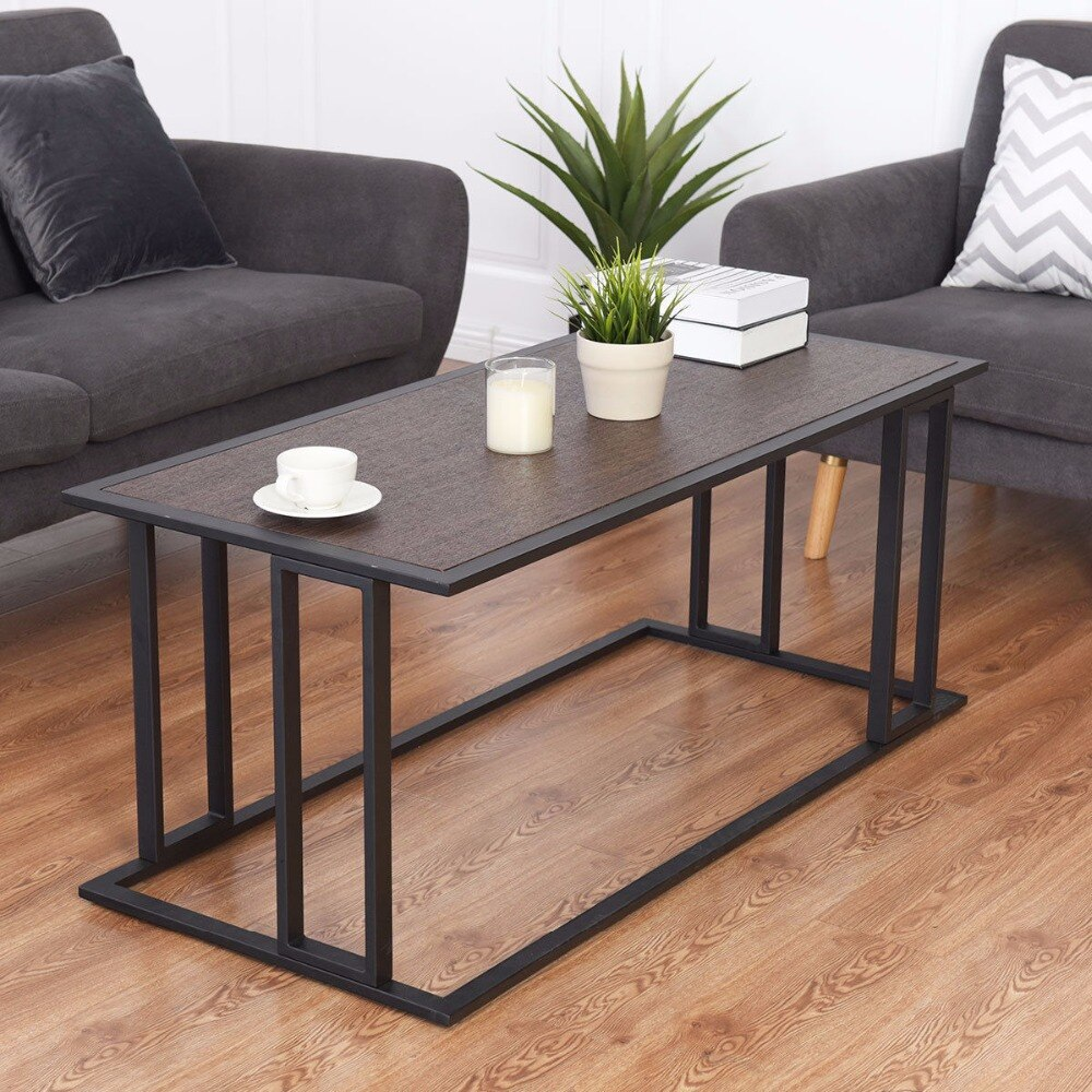 Modern Coffee Table Cocktail Home Accents End Table Side Sofa Living Room Furniture HW58265