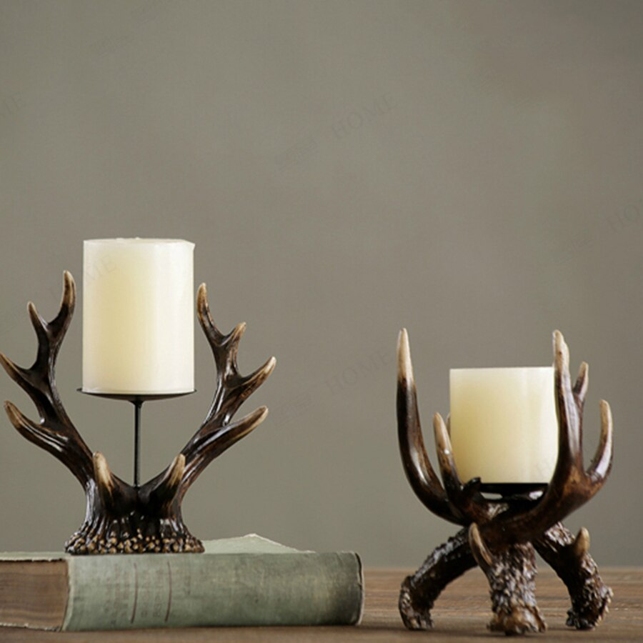 Nordic Home Decor Accents Romantic Candlesticks Home Decorative Candles Wooden Candle Holder Swiecznik Moroccan Lamp Mumluk 50