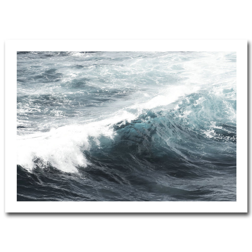 Nordic Decoration Motivational Poster and Prints Life Quote Sea Landscape Wall Art Canvas Painting - wall art-oosmdeals