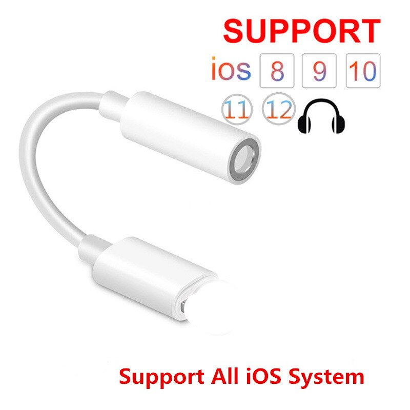 IOS 13 Headphone Adapter For iPhone 11 Pro Max 7 8 X XR AUX Adapter - home decor Online store-oosmdeals