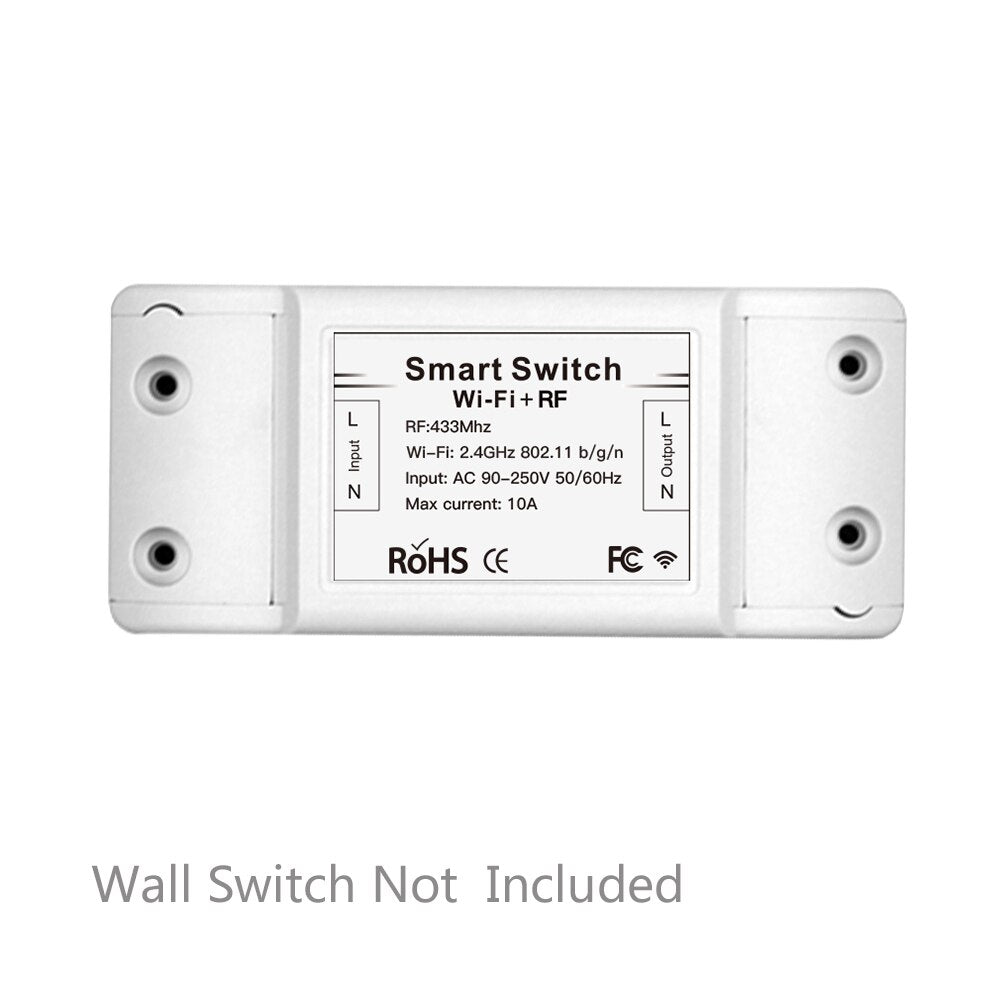 RF433 110V 220V Receiver Smart Home Wifi Wireless Remote Control Smart Switch - home decor Online store-oosmdeals