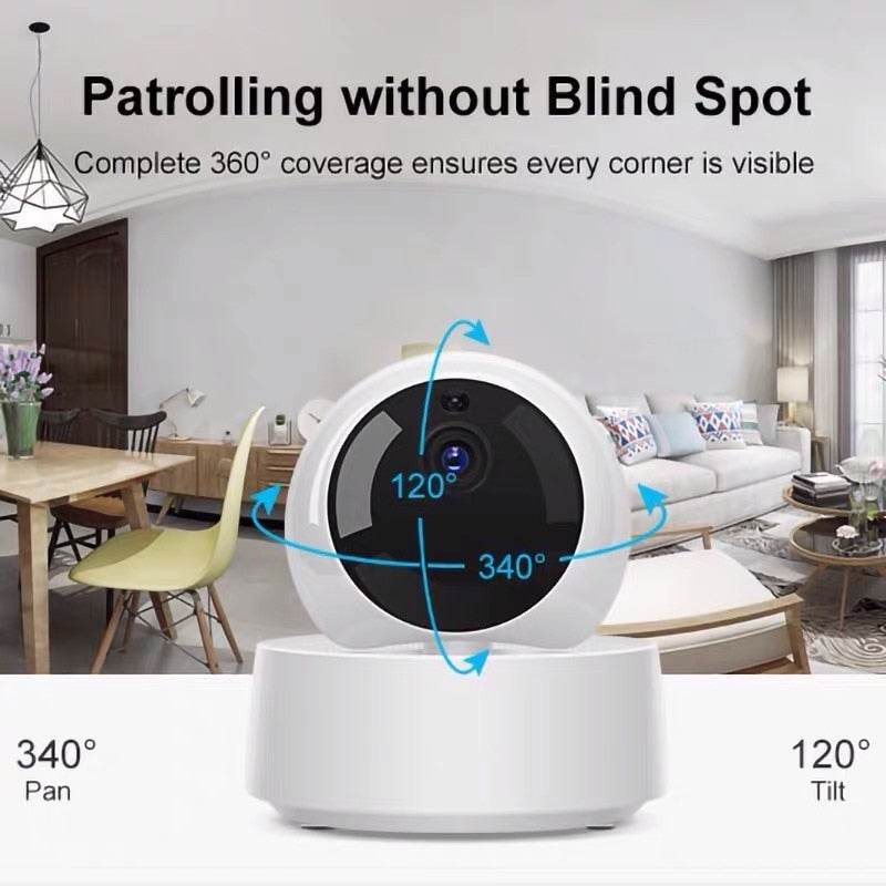 SONOFF GK-200MP2-B Smart Home Mini Wifi Camera Wireless IP 1080P HD Camera 360° IR Night Vision Baby Monitor Work With eWeLink