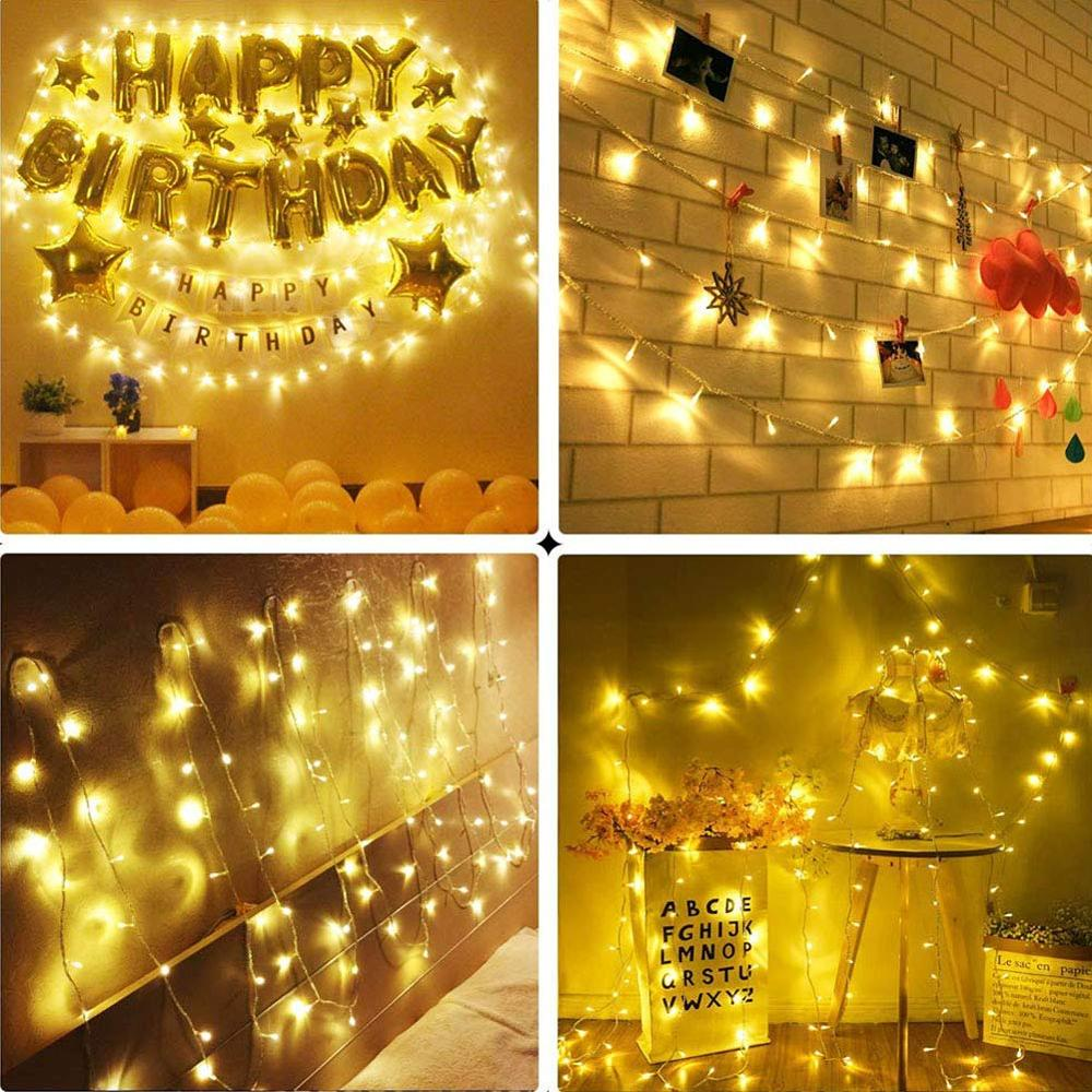 100M 800 Leds Fairy Lights Waterproof 24V Christmas Garland String Holiday Light For Outdoor/Indoor Wedding Party Decoration
