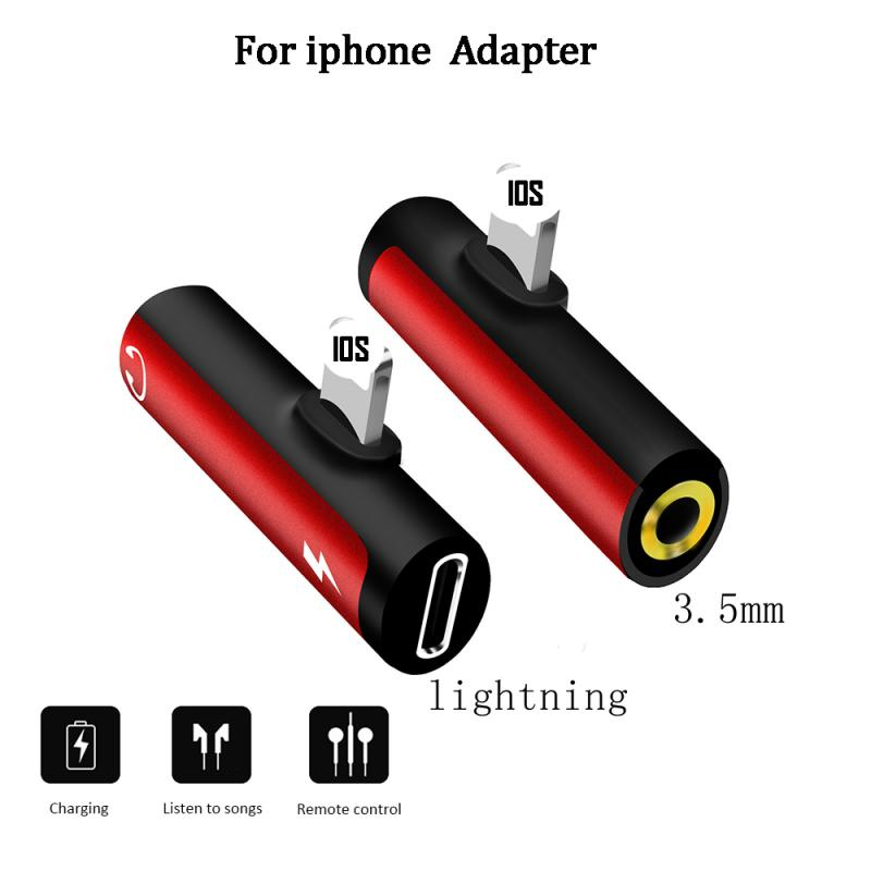Lightning to 3.5mm Jack Headphone Aux Audio Adapter For iPhone X 7 8 Plus OTG Adapter - home decor Online store