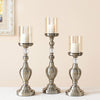 Nordic Home Decor Accents Candlesticks Vintage Candle Holders Home Decorative Candles Lantern Candle Glass Lantern AZT007