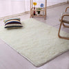 Living room/bedroom Rug Antiskid soft modern carpet mat white pink - home and decor