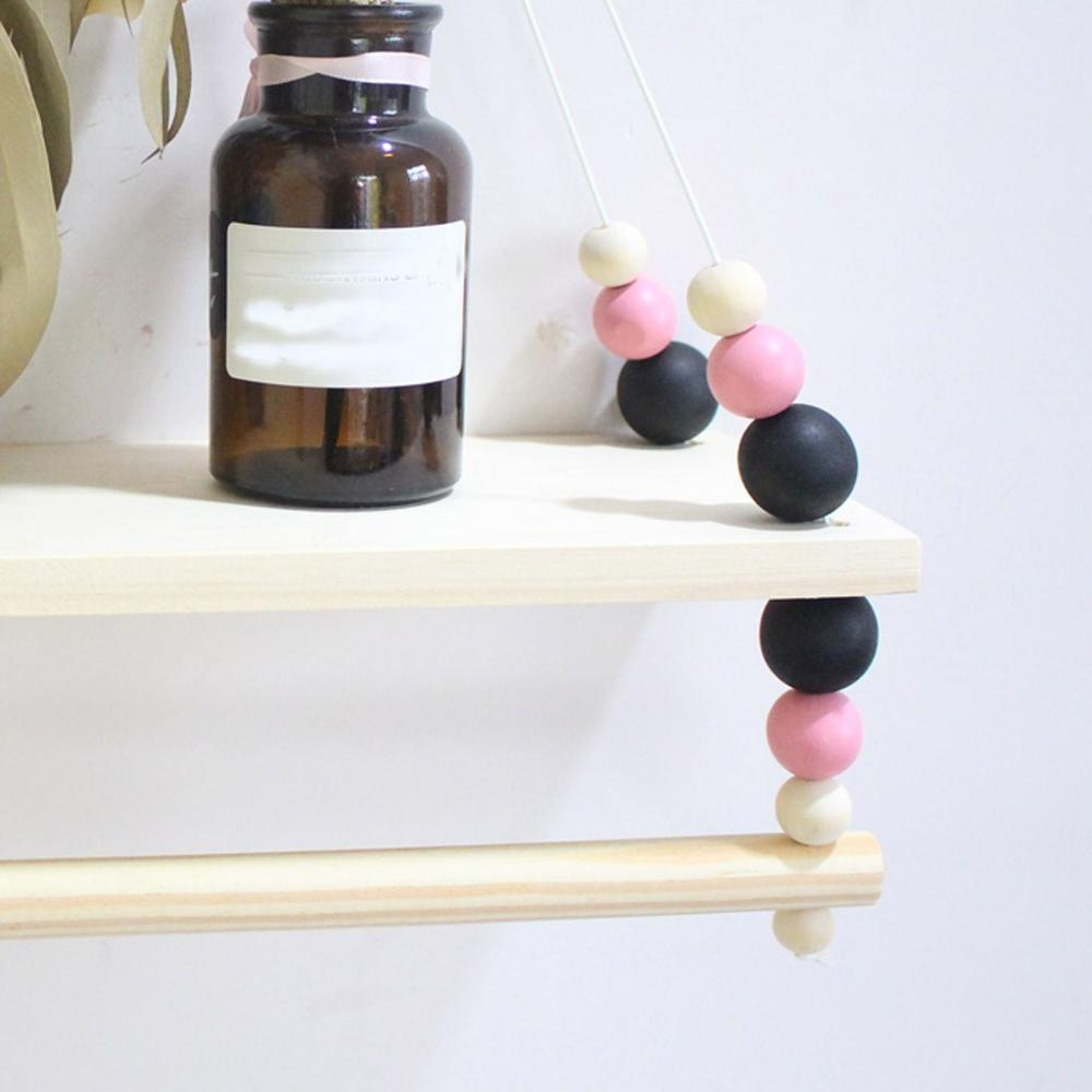 Attractive  Hanging Wood Wall Shelf ,Wooden Floating Shelving Home Decorative Storage Wall Mounted Rack High quality &xs