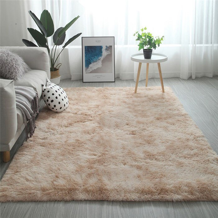 Gradient Solid Carpet Thick Rugs Non-slip Mat Bathroom Area rug for Living Room - home and decor-oosmdeals