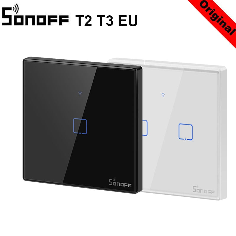 SONOFF T3 T2EU TX Smart Wifi Wall Touch Switch With Border Smart Home - home decor Online store