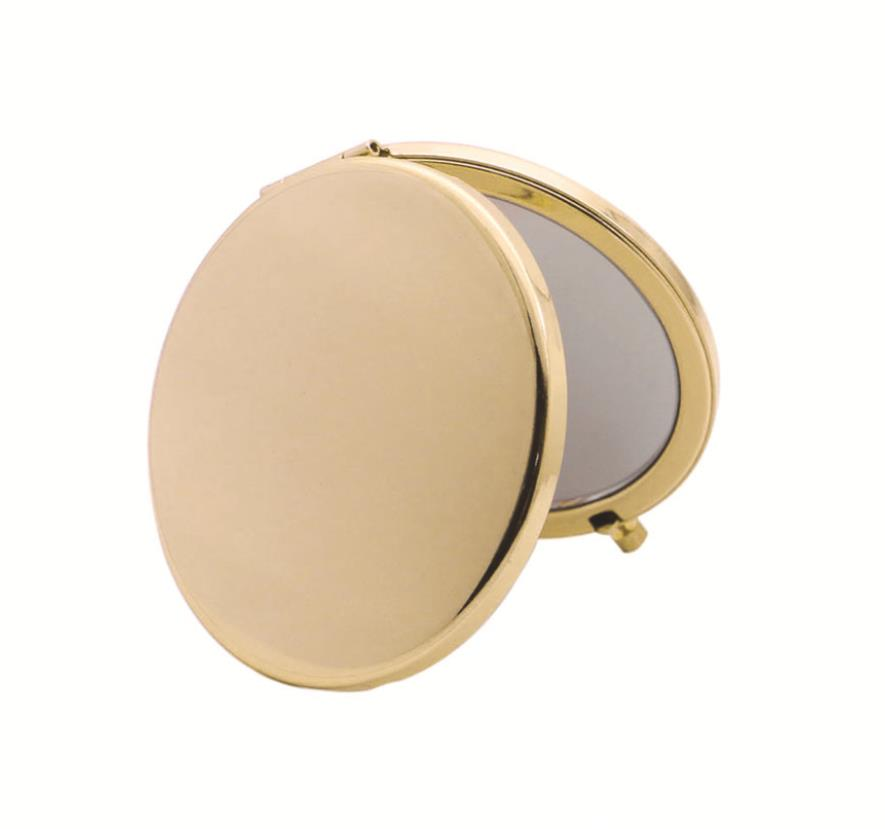 Custom Laser Logo 100pcs/Iot | Travel Makeup Mirror | Cosmetic Mirror | home and decor-oosmdeals