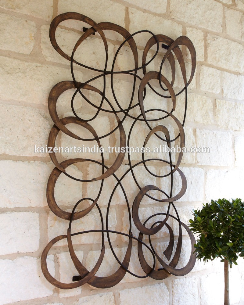 Home Decor Wall Accent, Iron - Wall Art-oosmdeals
