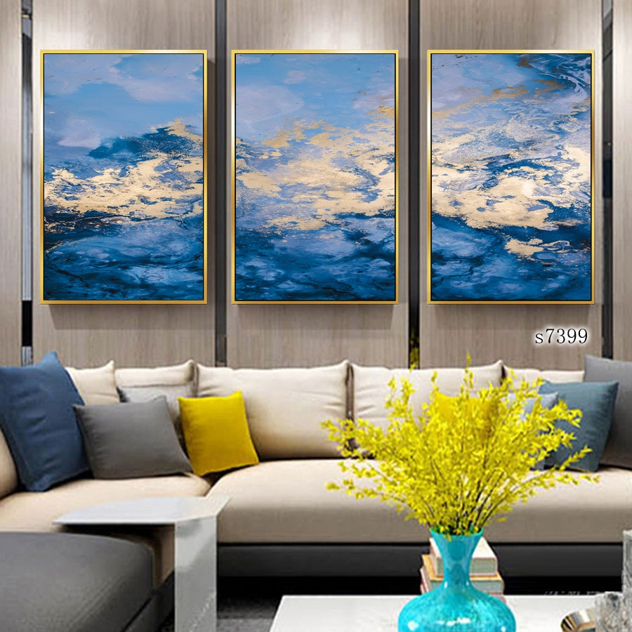 Wall Art Prints Printing Abstract Painting Framed Painting Canvas Modern Decorative Artworks