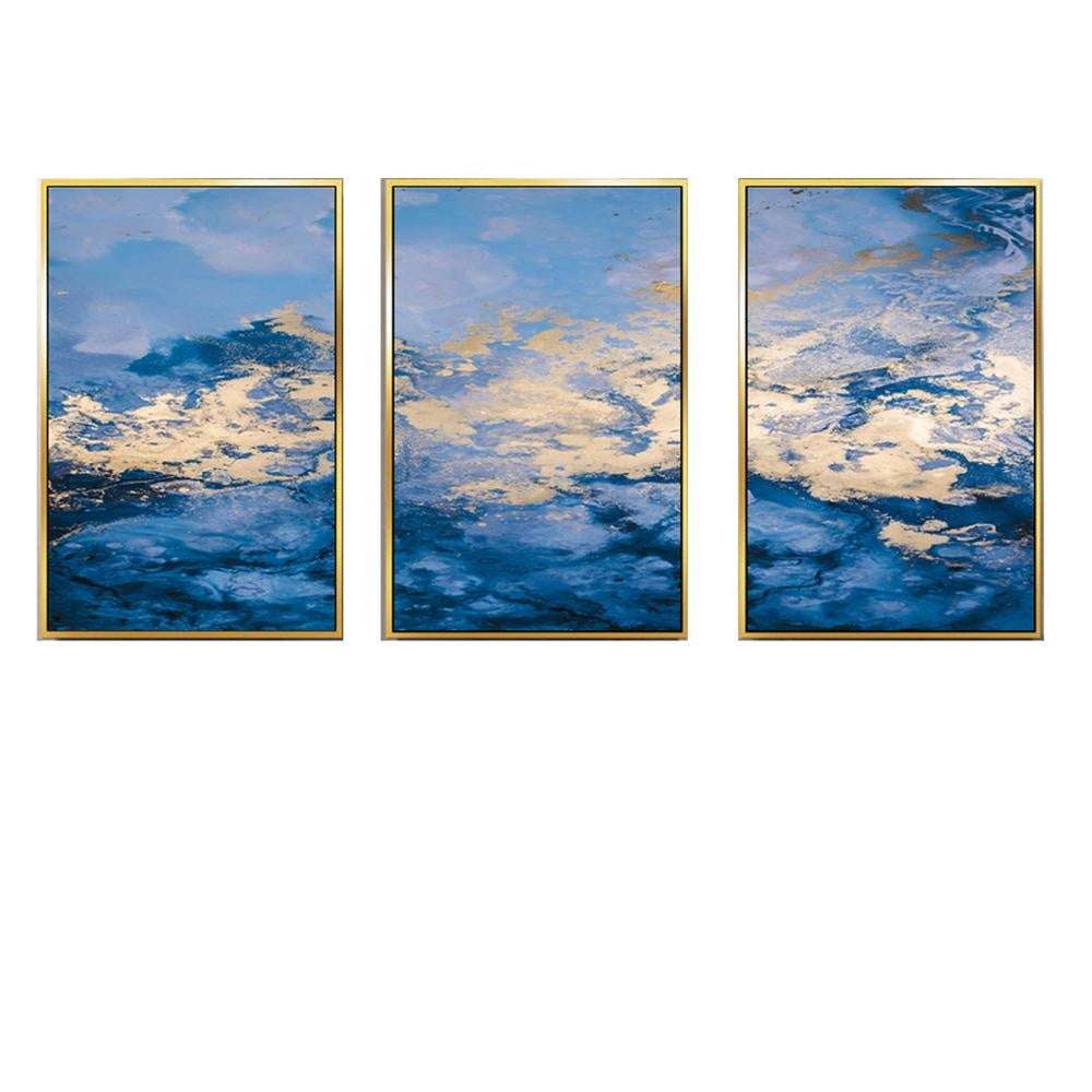 Wall Art Prints Printing Abstract Painting Framed Painting Canvas Modern Decorative Artworks-oosmdeals