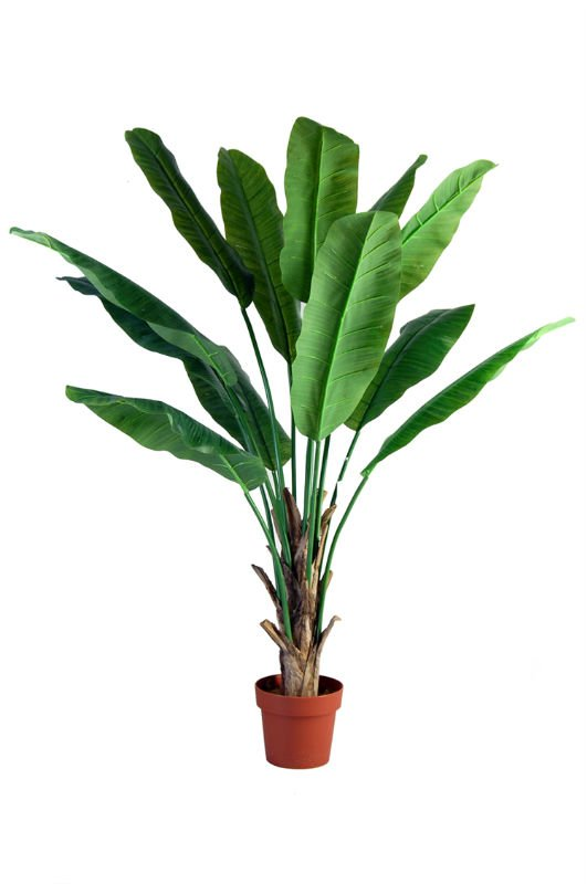 cheap wholesale artificial tropical plants with banana leaves - home and decor-oosmdeals