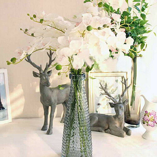 Artificial Butterfly Orchid Silk Flower Bouquet Phalaenopsis Home Decor Call - home and decor