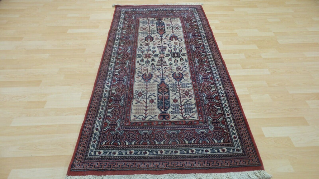 "PERSAIN style CARPET RUG Living Room WOOL Oriental 6ft 2"" x 3ft John lewis - home and decor"