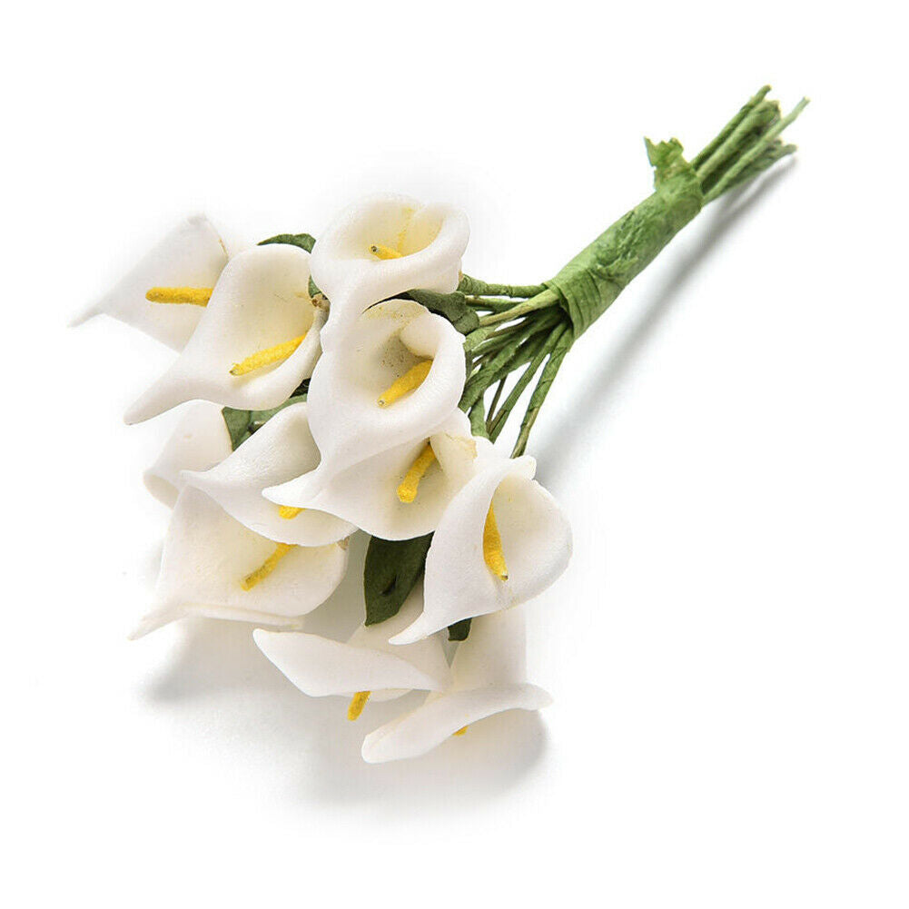 Solid Foam Calla Lily Artificial Flower Bouquet | Scrapbook Home Decoration
