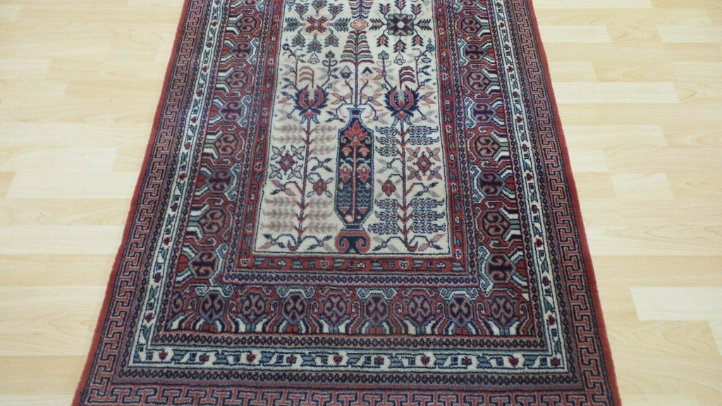 "PERSAIN style CARPET RUG Living Room WOOL Oriental 6ft 2"" x 3ft John lewis"