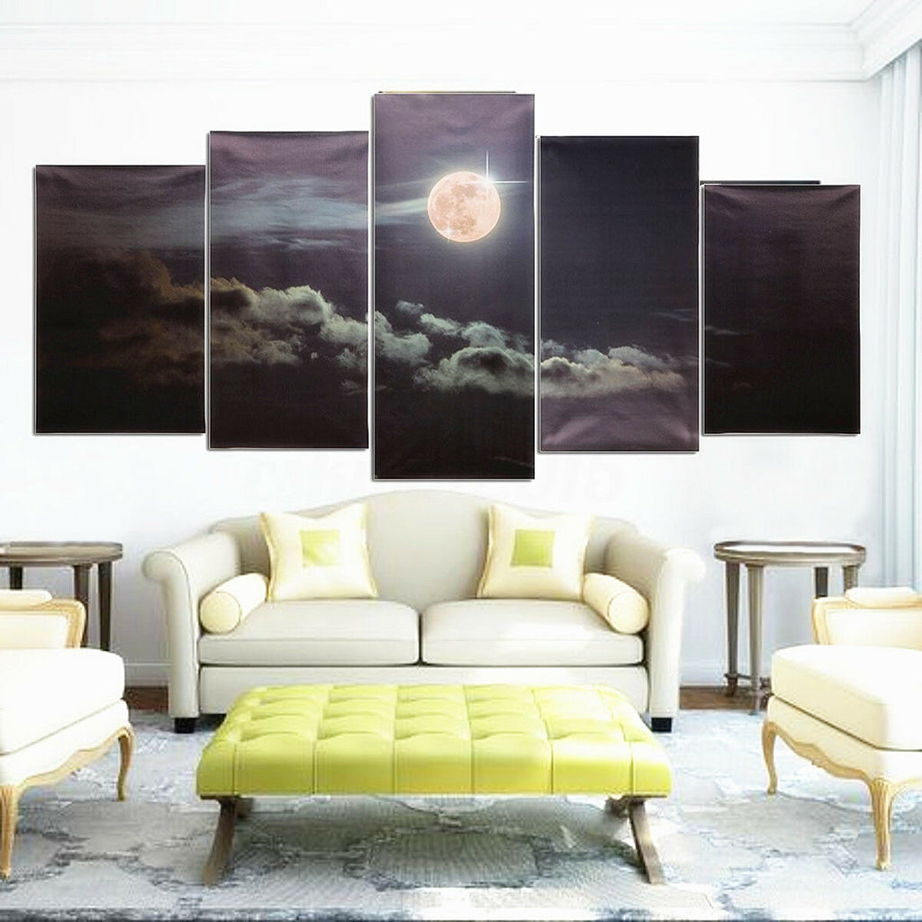 Large Canvas Huge Modern Wall Art Oil Painting Picture Print Unframed - wall art-oosmdeals
