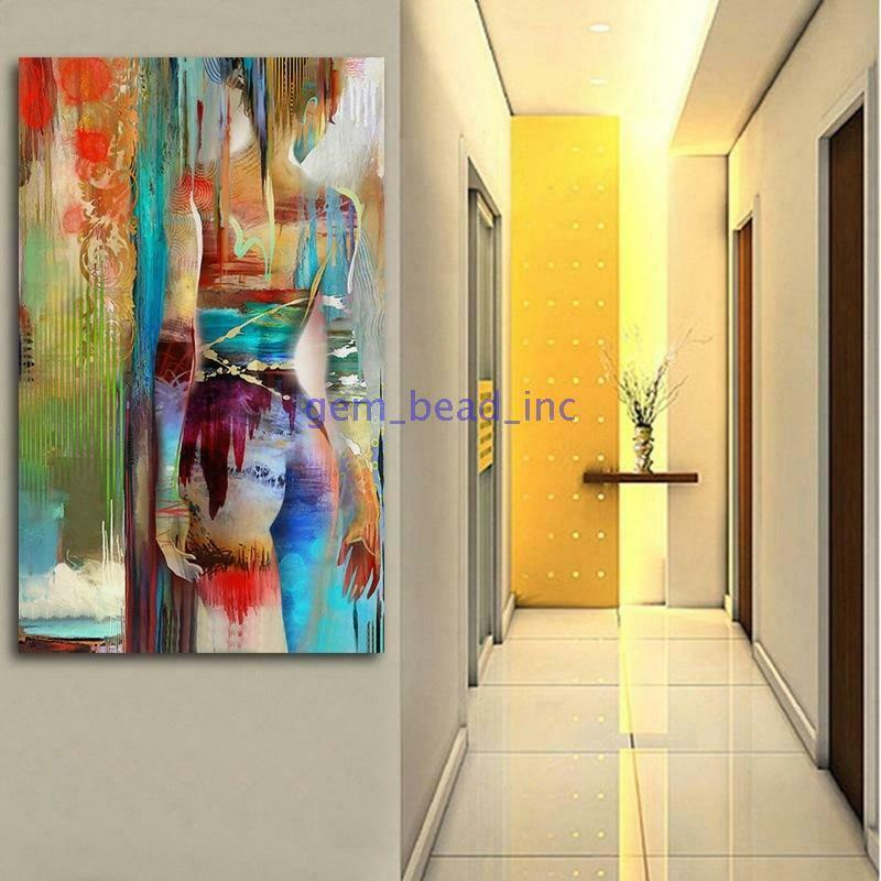 Nordic Abstract Beauty Art Canvas Painting Art Poster Wall Picture - wall art