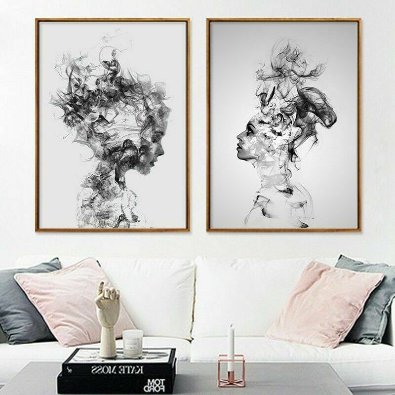 Modern Canvas Art Painting Print Home Abstract Wall Picture Decoration Unframed