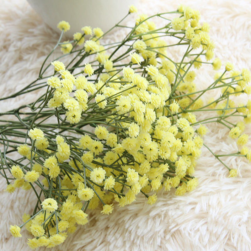 Artificial Fake Flower Babys Breath Gypsophila Silk Flowers Bouquet - home and decor-oosmdeals