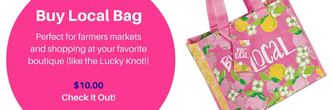 Lilly Pulitzer Market Bag - Buy Local - Best Accessories for Spring