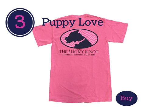 Lucky Knot Preppy Girl T-Shirt Perfect for Spring Break