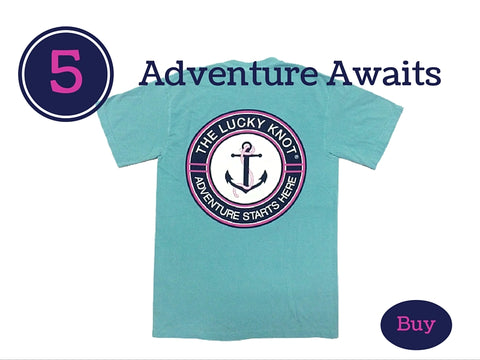 Lucky Knot Spring Break T-Shirt for Preppy Girls