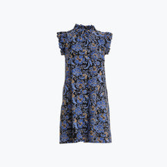Jude Connally Shari Dress - Batik Floral Navy